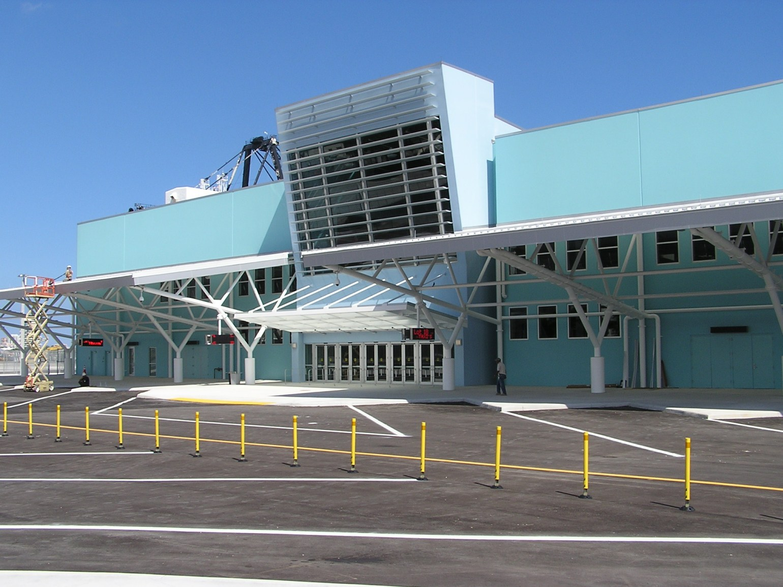 Terminal 18 main entrance